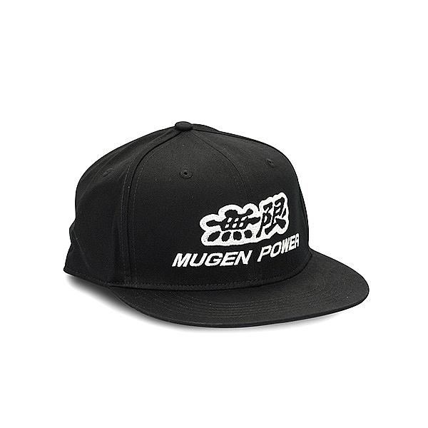 Flat bill Cap  Mugen Power Black
