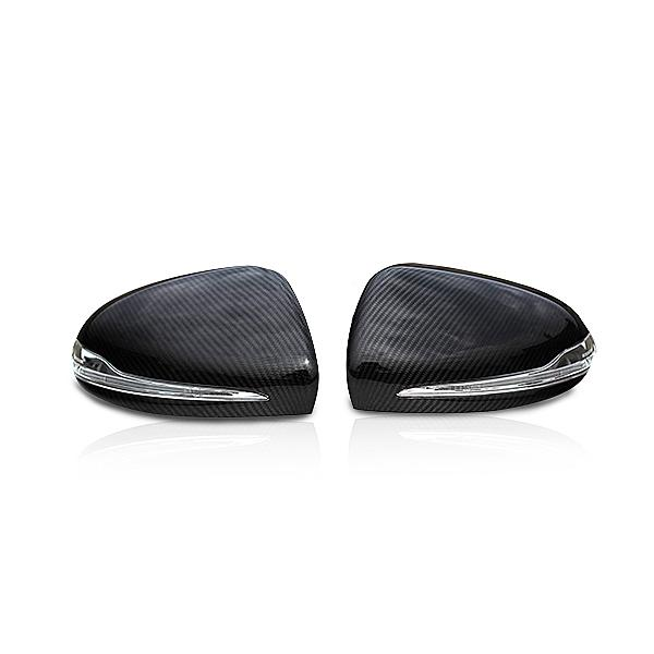 Mirror Cover Carbon for Style Mercedes Benz