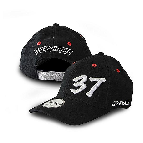 Cap Rays GEAR VOLK RACING 37 BLACK
