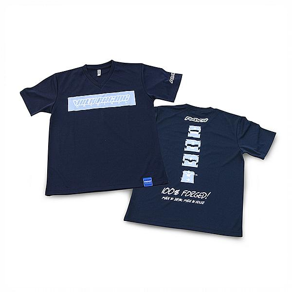 T Shirt Rays Volk Racing Official Gear Navy