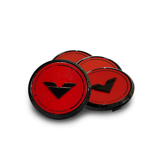 Vorsteiner Caps Red Black