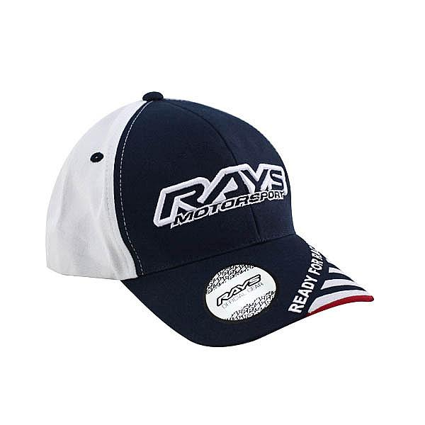 Cap Rays Motorsport White Navy