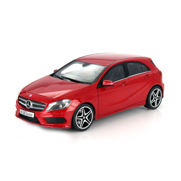 Car Model A-Class W176 Jupiter Red
