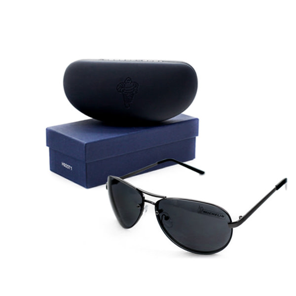 Pilot Sunglasses & Case