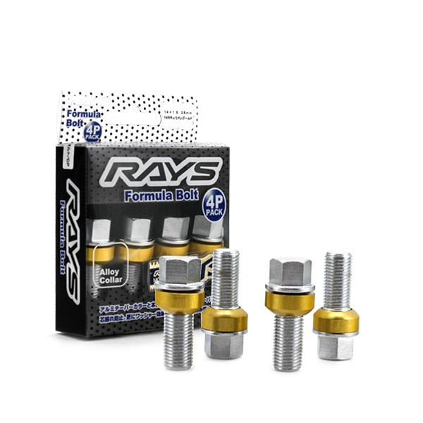 Rays  Formula Bolt Chrome Gold