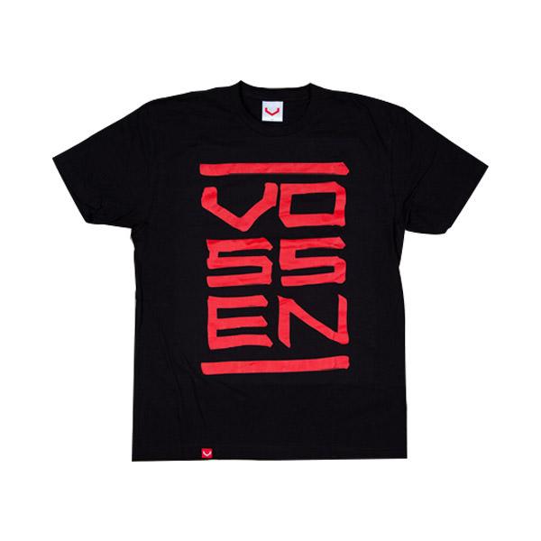 T-Shirt Mens Black Stack