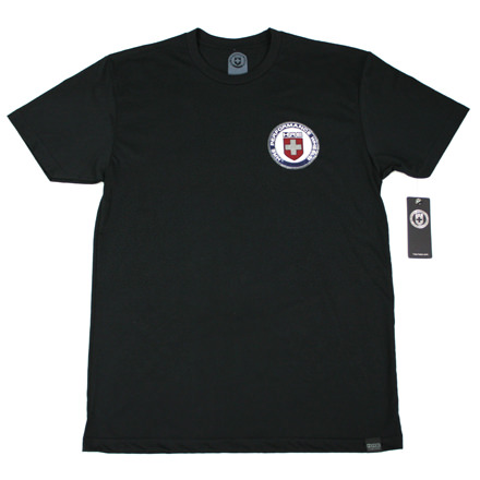 T-Shirt Mens Vintage Forged Black