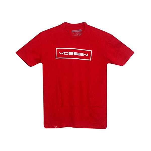 T-Shirt Red Outline Slap Vossen