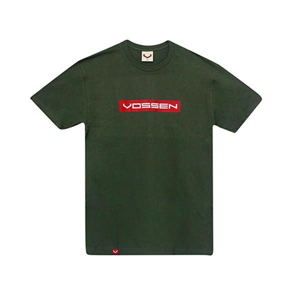 T-Shirt V Logo Millitary Green