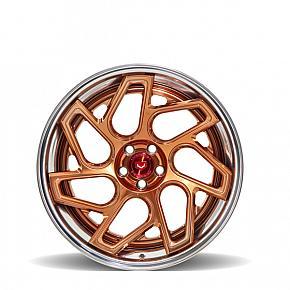 CG209T Transparent Copper / Polished Copper Penny