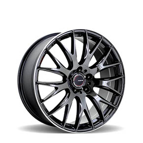 2X9 Jet Black Edition Black Chrome Coating 20