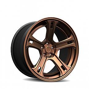 CS5-F 3 Piece Brushed Gloss Bronze