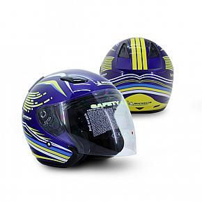 Helm Half Face Michelin