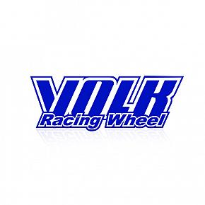 VOLK RACING TE37 Repair DISK Sticker Blue