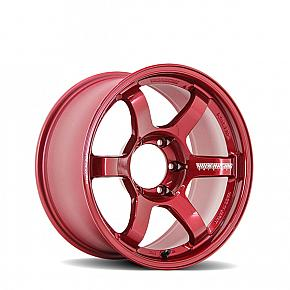 TE37 Large PCD Progressive Model Hyper Red 18