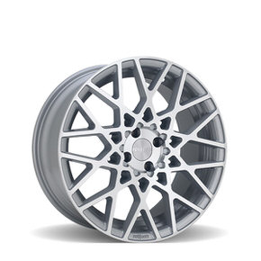 BLQ Machined Silver 18