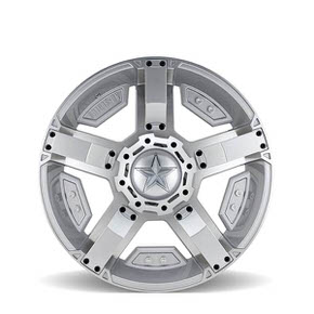 Rockstar Argento 168 Silver Machined 22