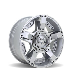 Rockstar Argento 168 Silver Machined 20