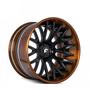 S205 Brown w/ Black