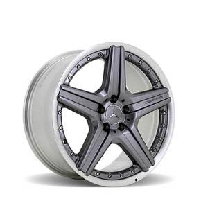 Style V 5 Spoke W221 Titan Grey 19