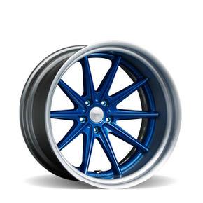 VWS-1 Gloss Blue w/ Brushed Anodized Lip