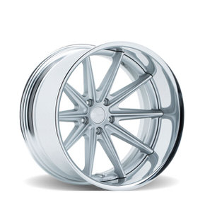 VWS-1 Matte Silver Polished Flat Lip
