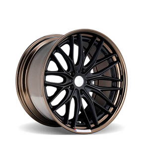 VWS-2 Matte Black Gloss Bronze Anodized Lip 20