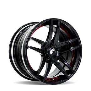 Vizzo ECL Gloss Black w/ Red 20