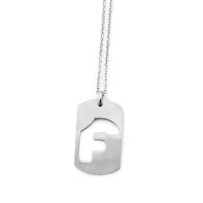 Chain Forgiato Rectangular F Plate
