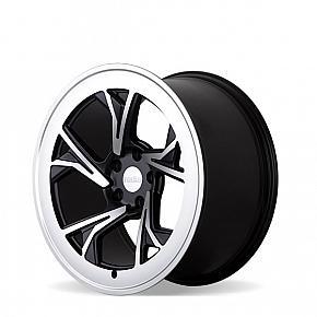 r8c5 Glossy Black Machined