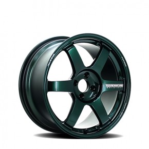 TE37 Saga Racing Green 17