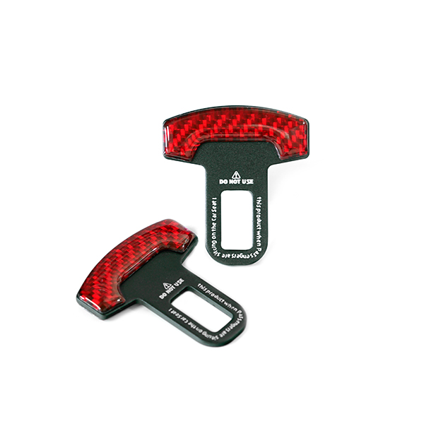 Seat Belt Temporary Canceller Red