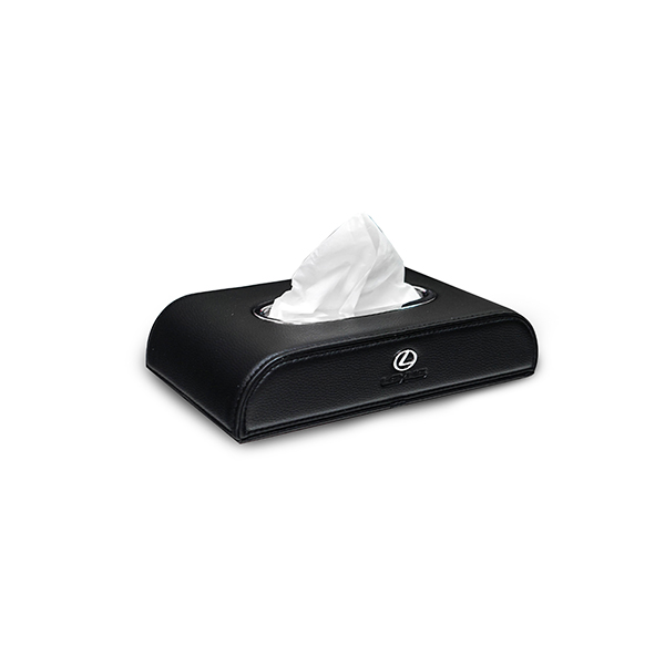 Tissue Box Motif Lexus Black