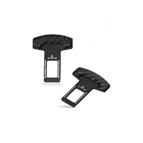 Seat Belt Temporary Canceller Black Universal