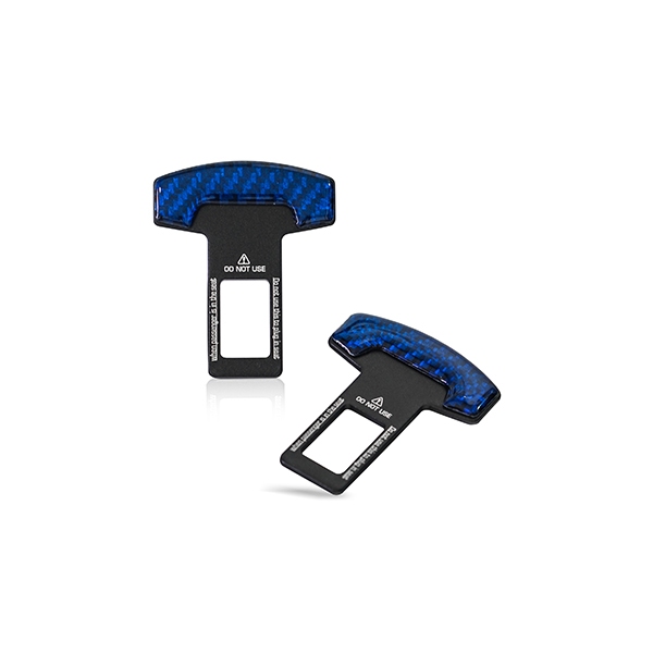 Seat Belt Temporary Canceller Blue Universal