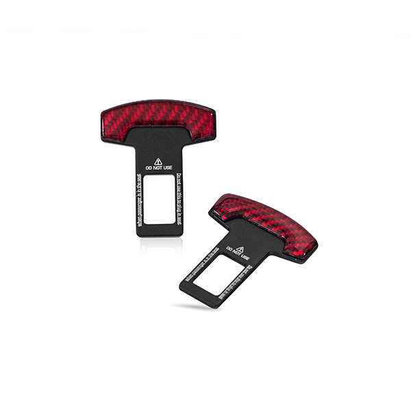 Seat Belt Temporary Canceller Red Universal