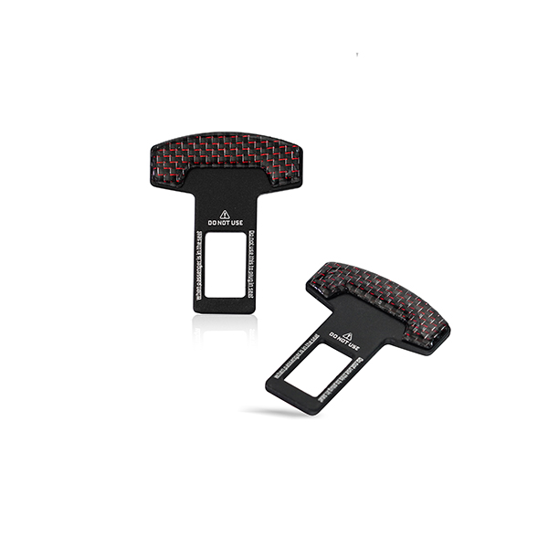 Seat Belt Temporary Canceller 2 Tone Red Universal