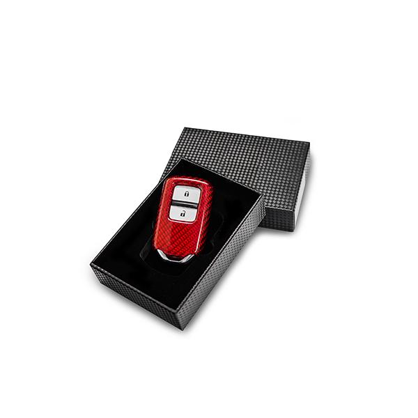 Key Case Carbon Red Honda