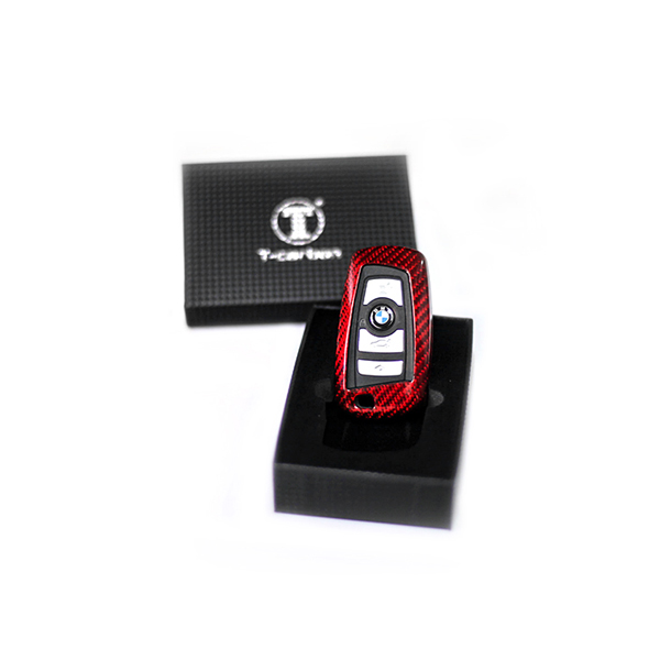 Key Case Carbon Red Type 1 BMW