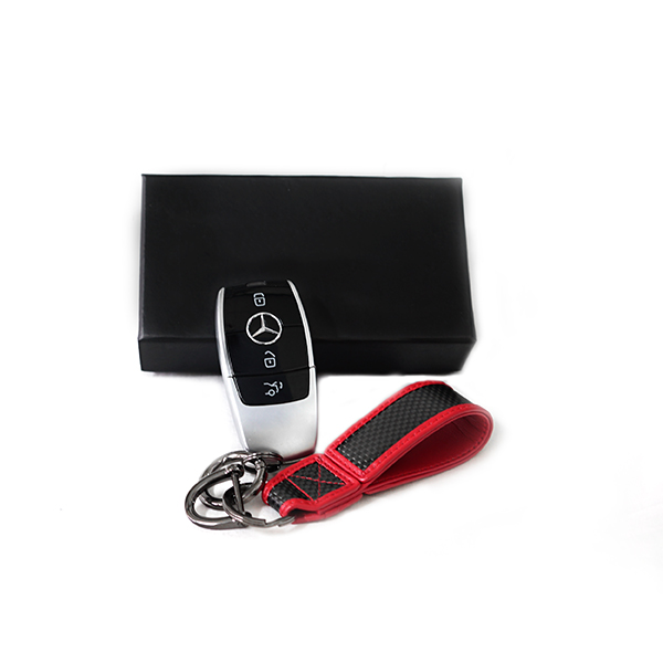 Carbon Key Strap Red