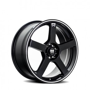 MR116 Gloss Black Machined Flange 18
