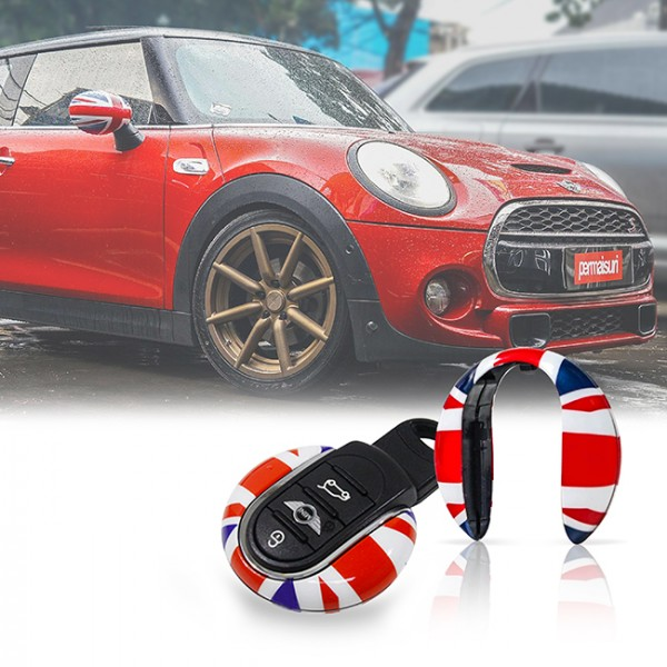 Mini Key Decor Red Union Jack Flag