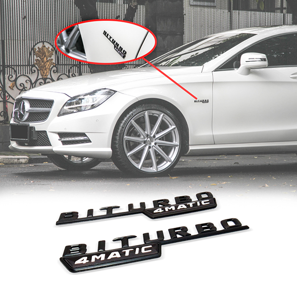 Emblem Biturbo 4 Matic