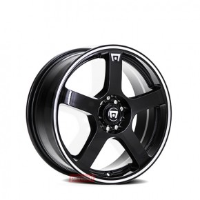 MR116 Gloss Black Machined Flange 17