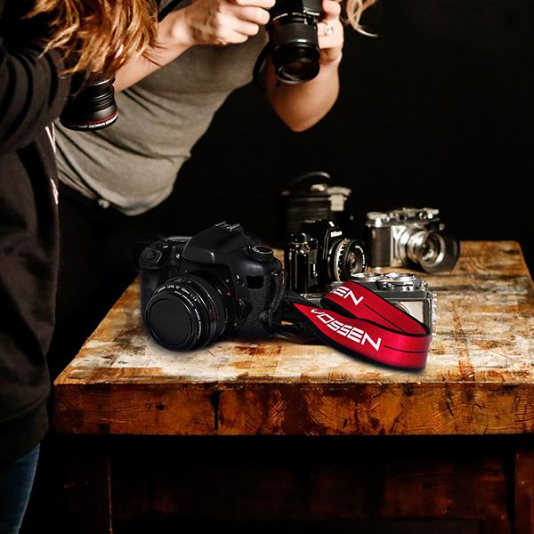 Vossen Original Camera Strap Red