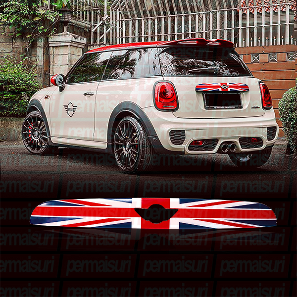 Trunk Decor Cover Blue Union  Jack for Mini Cooper