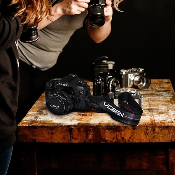 Vossen Original Camera Strap Black