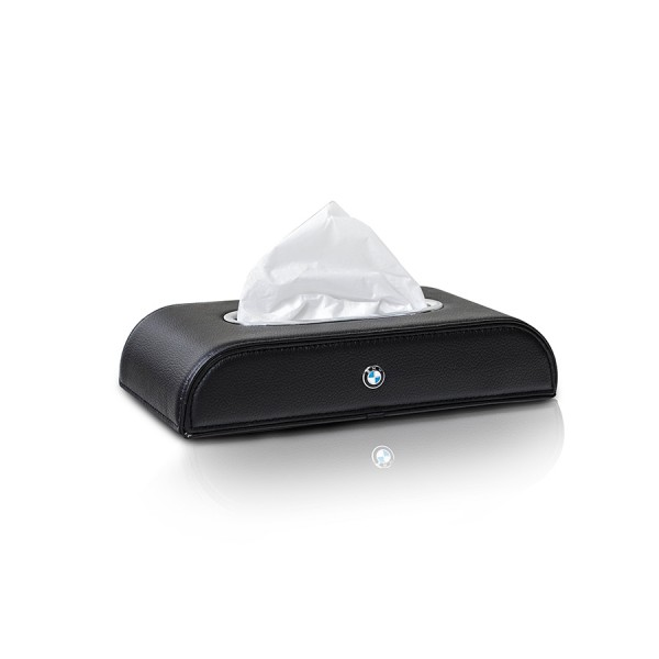 Tissue Box BMW Black