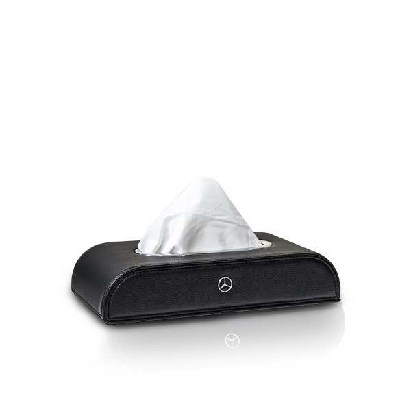 Tissue Box Mercedes Benz Black