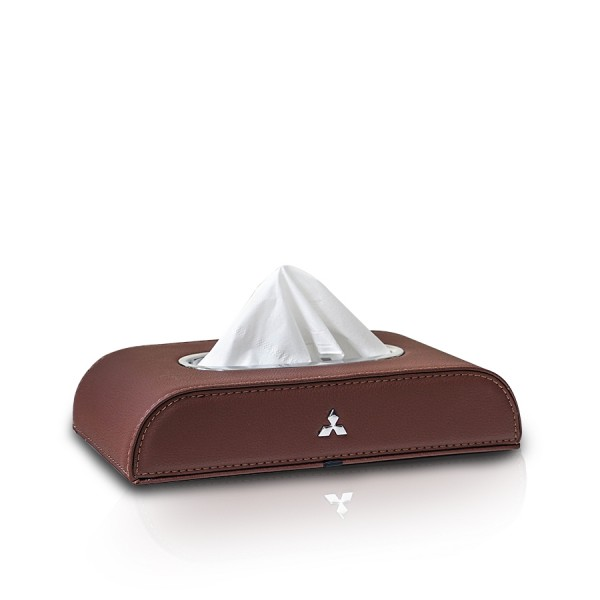 Tissue Box Mitsubishi Brown